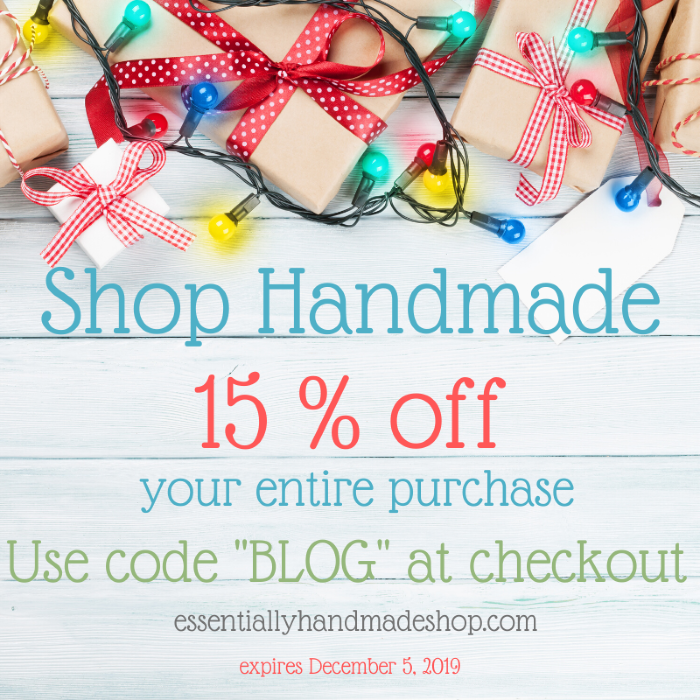 choose to shop handmade this christmas