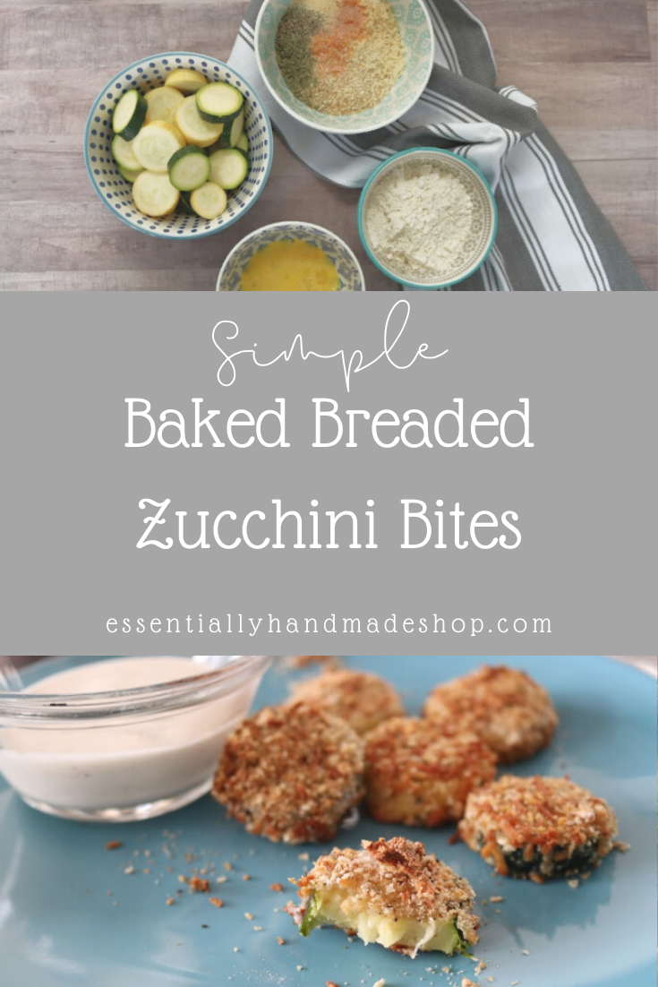 Essentially Handmade Zucchini Bites Recipe